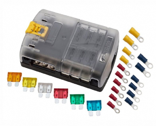 6 Way Fuse Box Kit with Crimps - DA1748